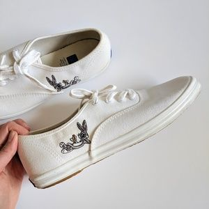 Keds Looney Tunes Limited White Champion Sneakers